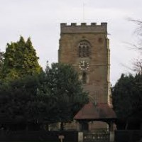 Powick church, west tower